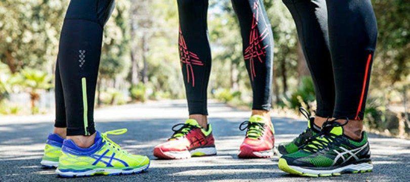chaussure de course asics femme