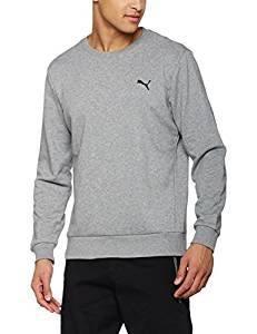5340fd4be0 Plus discrets que les autres modèles précédents, le sweat-shirt Ess de Puma  convient à tout type d'activité sportive, en salle ou en plein air selon  vos ...