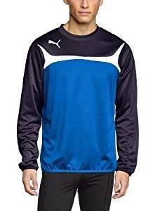 bb63be1471 Pour finir, nous vous avons sélectionné ce sweat-shirt tricolore de Puma.  Très léger et confortable à porter, ce modèle est fabriqué entièrement en  ...