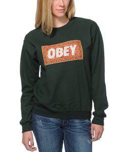 Janvier En Obey Sweat Comparatif Shirts De 2019 Femme Pour 1y0Bpzwq