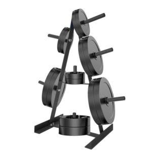 rack métallique pour haltères et fonte